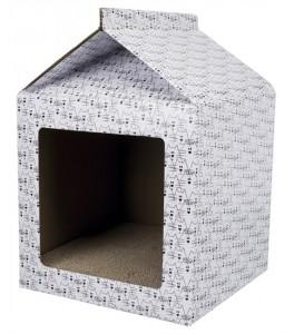 Caja-Casa Rascadora Blanco