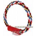 Trixie Anillo cuerda multicolor de algodón