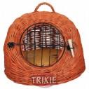 Trixie Transportín mimbre gatos/perros pequeños