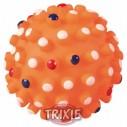 Trixie Erizo pelota, vinilo, púas grandes, sonido, ø 12cm
