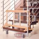 Trixie Barrera extensible perros, 63/108x51x31 cm, Haya
