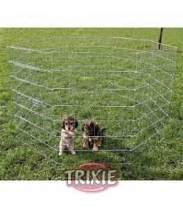 Trixie Cerramiento cachorros galvaniz, 8 paneles 61x91cm