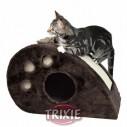 Trixie Cueva-Rascador ratón Topi, 33cm, Marrón