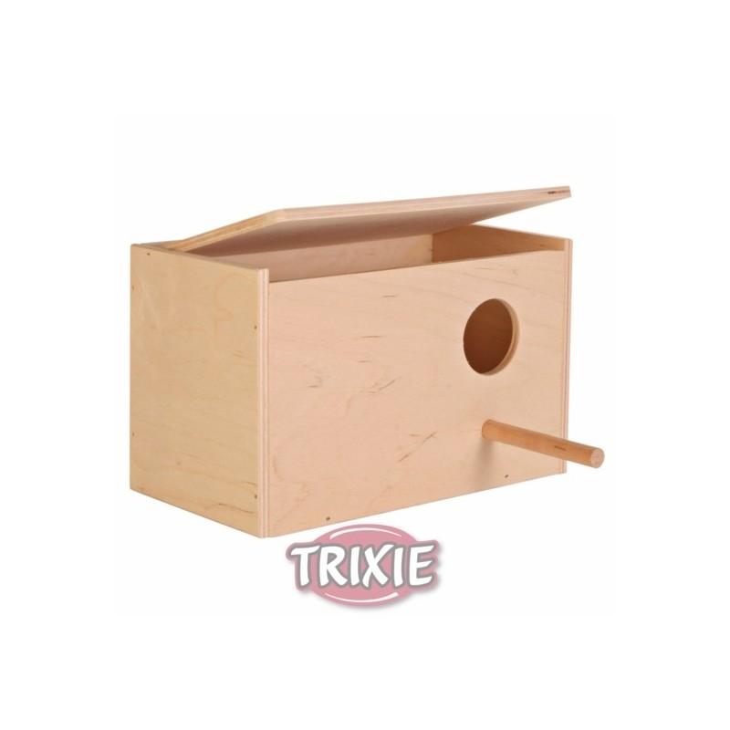 12 /× 26 /× 12 cm Madera TRIXIE Kit Construcci/ón Nido Exterior P/ájaros