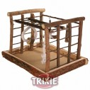 Trixie Área de juego, Natural Living, 35×29×25 cm