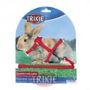 Trixie Set roedores con correa, nylon, col. surt.