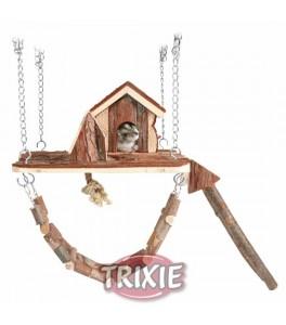 Trixie Área de Juego Janne para colgar, 26×22 cm