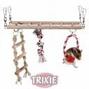 Trixie Columpio Juegos Escalada para hámsters, 29×25×9cm