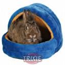 Trixie Cueva suave, pequeño roed., 25x25x29 cm, az/Naran.