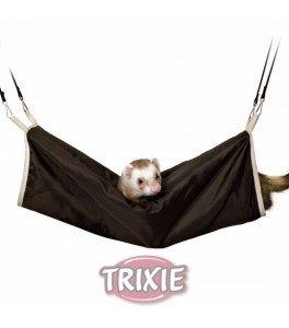 Trixie Túnel para Hurones, ø20×45cm, Marrón-Beige