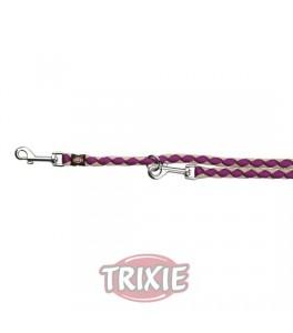 Trixie Ramal Cavo talla L-XL de color Morado/plata para perro