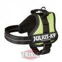 Arnés Julius K9 Mini talla M color Verde Lima para perro