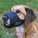 Trixie Bozal nylon con malla cosida talla L de color negro