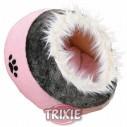 Trixie Cueva suave Minou, 35x26x41 cm, Rosa/Gris