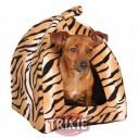 Trixie Cueva suave Nero, 35x40x35 cm, tiger