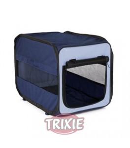 Trixie Caseta desmontable Twister, talla M azul/beig para perro