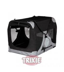 Trixie Caseta desmontable, talla S azul/gris para perro