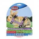 Trixie Set conejos de arnes y correa ajustable