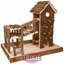 Trixie Área de Juego Birger Natural Living para roedores, 36×33×26 cm
