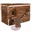 Trixie Casa laberinto Svea Natural Living para roedores, 28×19×20 cm
