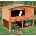 Trixie Caseta Natura doble para roedores con rampa y nido, 123×96×76 cm