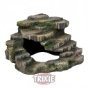 Trixie Piedra esquinera con Cueva&Plataforma, 21×20×18cm,