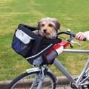 Trixie Cesta bicicletas frontal, 38×25×25 cm, ngr/Gris