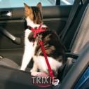 Trixie Arnés y Cinturón seguridad gatos 20-50 cm Rojo
