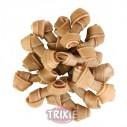 Trixie 50 Huesos Prensado Anudado 7 cm, Granel