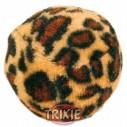 Trixie 4 Pelotas leopardo, ø 4 cm