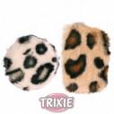 Trixie Almohadillas crunch, 7 cm,, ø 5.5 cm, 2 uds