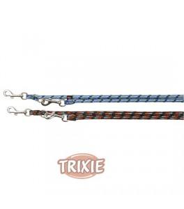 Trixie Ramal Mountain Rope talla L-XL de color Negro-Naranja para perro