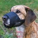 Trixie Bozal nylon con malla cosida talla L-XL de color negro