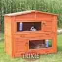 Trixie Caseta Natura para roedores, 2 compartimentos, 133x120x83 cm